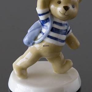 Theo 2005 Annual Teddy Bear  figurine, Royal Copenhagen