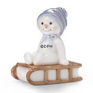 Winter series 2005 snowman, baby Arthur, Royal Copenhagen | Year 2005 | No. 1249171 | DPH Trading