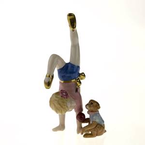 The Little Artist , Royal Copenhagen figurine from the Mini Circus collecti...