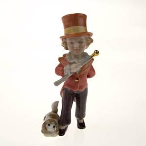 The Little Ringmaster, Royal Copenhagen figurine from the Mini Circus colle...