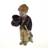 The Little Magician, Royal Copenhagen figurine from the Mini Circus collect...