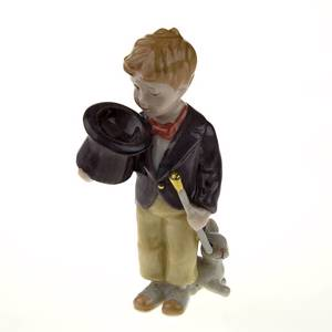 The Little Magician, Royal Copenhagen figurine from the Mini Circus collection series | No. 1249205 | DPH Trading