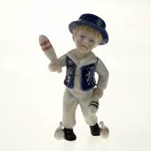 The Little Juggler, Royal Copenhagen figurine from the Mini Circus collecti...