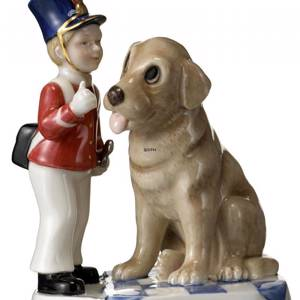 The Tinderbox Hans Christian Andersen figurine, Royal Copenhagen | No. 1249224 | DPH Trading