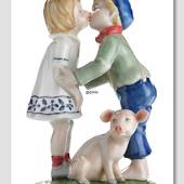 The Swineherd Hans Christian Andersen figurine, Royal Copenhagen