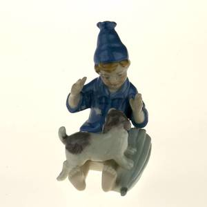 The Sandman Hans Christian Andersen figurine, Royal Copenhagen | No. 1249230 | DPH Trading