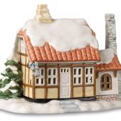 Tealight cottage, Bakery, Royal Copenhagen candle holder