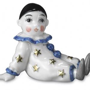 White Clown, Royal Copenhagen Toys figurine | No. 1249291 | DPH Trading