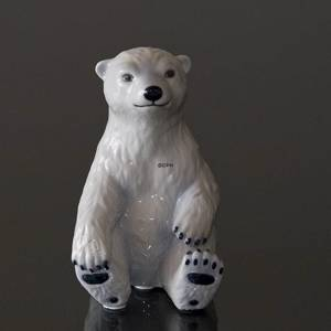 Polar Bear Cub, Royal Copenhagen figurine