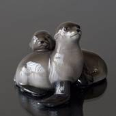 Seal pups, Royal Copenhagen figurine