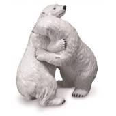 Polar Bears Hugging, Royal Copenhagen figurine