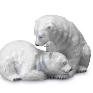 Polar Bear cubs, Royal Copenhagen figurine