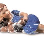 Girl with cats, Royal Copenhagen figurine