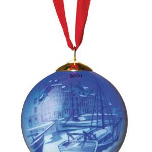 Royal Copenhagen Christmas Ornament, ball | Year 2007 | No. 1249380 | DPH Trading