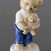 Victor 2007 Annual Teddy Bear Figurine, Royal Copenhagen
