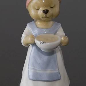 Victoria 2007 Annual Teddy Bear Figurine, Royal Copenhagen | Year 2007 | No. 1249395 | DPH Trading