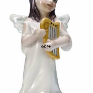 Angel with harp, Royal Copenhagen figurine | No. 1249413 | DPH Trading