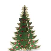 Royal Copenhagen Christmas tree, brass, small