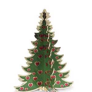 Royal Copenhagen Christmas tree, brass, small | No. 1249420 | DPH Trading