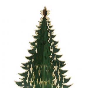 Royal Copenhagen Christmas tree, brass, medium | No. 1249421 | DPH Trading