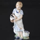 Girl with ducks, Royal Copenhagen figurine