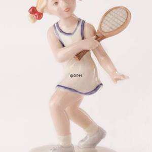 Tennis player, Royal Copenhagen figurine