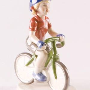 Racing cyclist, Royal Copenhagen figurine | No. 1249458 | DPH Trading
