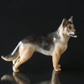German Shepherd, Royal Copenhagen dog figurine