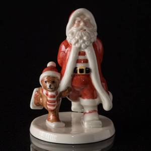 The Annual Santa 2008, Santa and teddy skiing | Year 2008 | No. 1249526 | Alt. 1249526 | DPH Trading