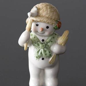 Winter series 2008 snowman, Mother Sophie, Royal Copenhagen | Year 2008 | No. 1249529 | DPH Trading