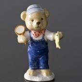 Victor 2008 Annual Teddy Bear figurine, Royal Copenhagen