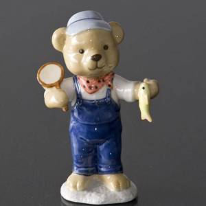 Victor 2008 Annual Teddy Bear figurine, Royal Copenhagen | Year 2008 | No. 1249535 | Alt. 1249535 | DPH Trading