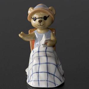Victoria 2008 Annual Teddy Bear figurine, Royal Copenhagen | Year 2008 | No. 1249536 | DPH Trading