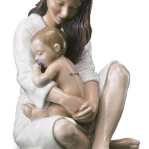 Mother with sleeping baby, Royal Copenhagen figurine