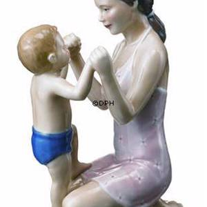 Mother with bouncing baby , Royal Copenhagen figurine