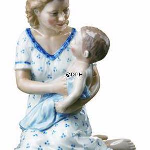 Mother with baby on lap, Royal Copenhagen figurine | No. 1249545 | DPH Trading