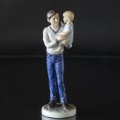 Father with girl on his arm, Royal Copenhagen figurine