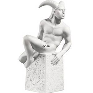 Zodiac Figurines, Capricorn (21st December to 19th January), male, Royal Co...