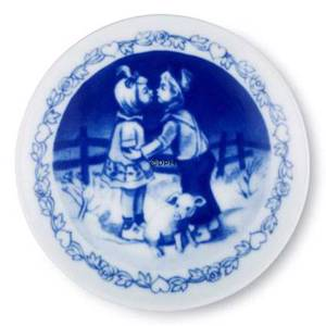 Hans Christian Andersen Plaquette with The Swineherd, Royal Copenhagen | No. 1249627 | DPH Trading