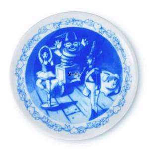 Hans Christian Andersen Plaquette with The Steadfast Tin Soldier, Royal Copenhagen | No. 1249631 | DPH Trading