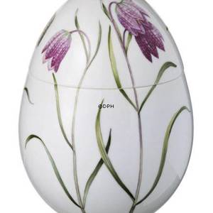 Spring bonbonniere with fritillary, Royal Copenhagen Easter Egg 2008 | Year 2008 | No. 1249651 | Alt. R1249651 | DPH Trading