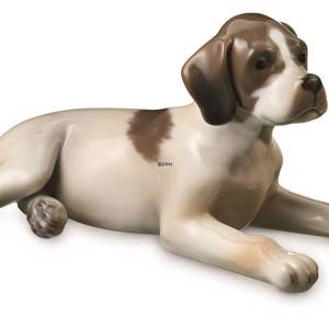 Pointer Puppy Dog, Royal Copenhagen dog figurine