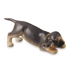 Dachshund Puppy Dog, Royal Copenhagen dog figurine | No. 1249681 | DPH Trading