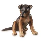 German Shepherd Puppy Dog, Royal Copenhagen dog figurine