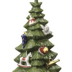 The Annual Christmas Tree 2009, with ornaments and a gold star | Year 2009 | No. 1249758 | DPH Trading