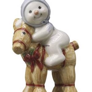 Winter series 2009 snowman, Baby Arthur, Royal Copenhagen | Year 2009 | No. 1249761 | DPH Trading