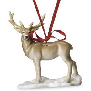 Bing & Grondahl Christmas ornament 2009, Stag | Year 2009 | No. 1249762 | DPH Trading