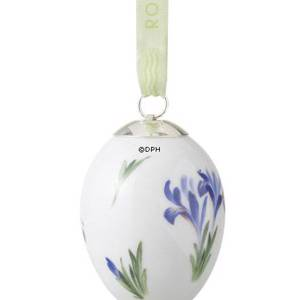 Easter egg with iris, Royal Copenhagen Easter Egg 2010 | Year 2010 | No. 1249784 | Alt. R1249784 | DPH Trading