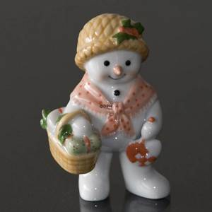 Winter series 2010 snowman, Mother Sophie, Royal Copenhagen | Year 2010 | No. 1249816 | DPH Trading
