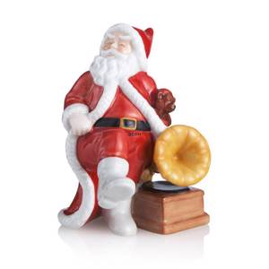 The Annual Santa 2013, Santa with gramophone, Royal Copenhagen | Year 2013 | No. 1249843 | Alt. 1018085 | DPH Trading